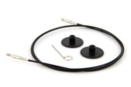 40cm Zwarte Kabel KnitPro