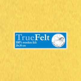 Kuikengeel 20 x 30cm TrueFelt