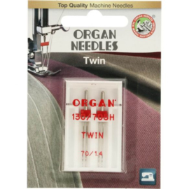 70/1.4 Tweeling Naalden Organ Needles