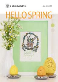 Hello Spring Zweigart