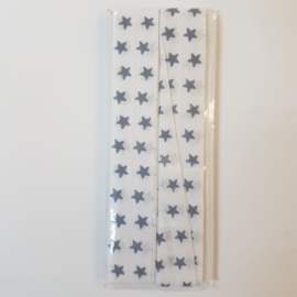 Dark Blue Stars Fantasy Bias Binding Fillawant
