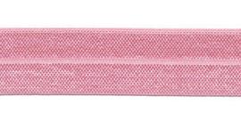 Licht Roze 20mm Elastisch Biaisband