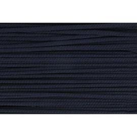 210 Donker blauw soepel koord 5mm