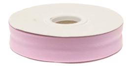 Licht Roze Gevouwen Biasband 20mm p.m.