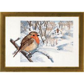 Robin (roodborstje) Eavenwave - Permin