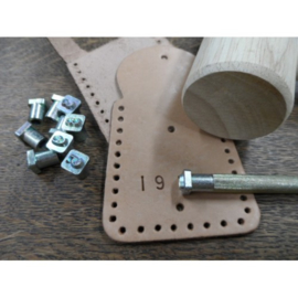 Metal Numbers Stamps Leather Studio