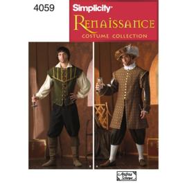 4059 A Men's Renaissance Costumes Simplicity