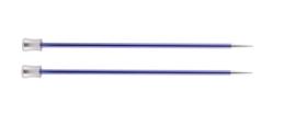 4.5mm Zing 40cm Breinaalden met Knop KnitPro