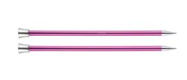 10mm Zing 40cm Breinaalden met Knop KnitPro