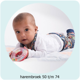 Harembroek maat 50 t/m 74 Annie do it yourself naaipatroon