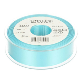 70 25mm Lint Satin Luxe Double face p.m.