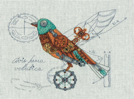 Clockwork Bird Aida Panna Telpakket