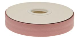 Oud Roze Gevouwen Biasband 20mm p.m.