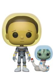 Space Suit Morty met Slang Rick & Morty Pop!Funko