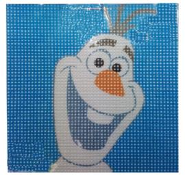 Disney Frozen Olaf voorbedrukt Stramien pakket