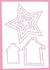 Shape Set Stencils Lennie Flennerie