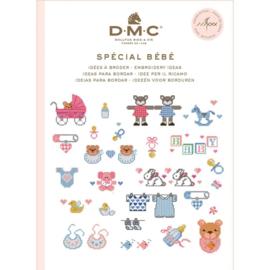 Ideeën voor borduren baby - DMC