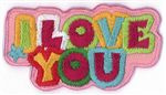69v9 I Love You ReStyle Applique Patch