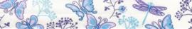 Blauwe Vlinders Fantasie Biais band Fillawant