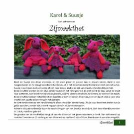 Karel & Suusje Patroonboekje ZijMaaktHet