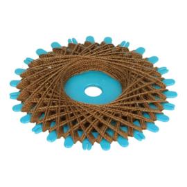 Brown Button Thread