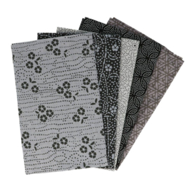 Sincere Silver Fat Quarter Bundle Tissu de marie