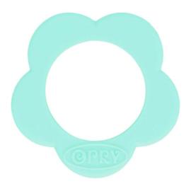 285 Mint bloem Siliconen kraal 40mm