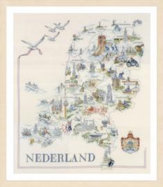 Map of Holland Lanarte Telpakket