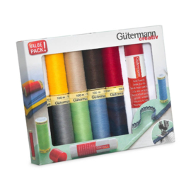 Allesnaaigarenset met textiellijm - Gütermann
