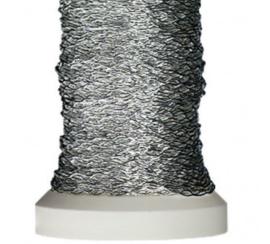 Silver Decorative Elastic Wire Gütermann