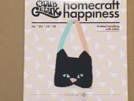 Handtas met Kitten Club Geluk Breipakket