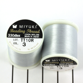 3 Zilver Beading Draad B Miyuki