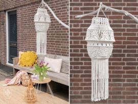 Garden Summer Macramé Lamp Durable Rope