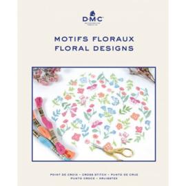 Kruissteek bloemen borduurboek - DMC