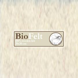 Ecru 20 x 30cm BioFelt