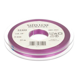 19 6mm Lint Satin Luxe Double face p.m.