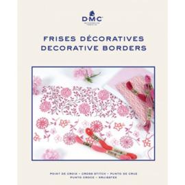 Kruissteek decoratieve randen borduurboek - DMC