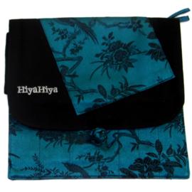 Blauw Groene Verwisselbare Naalden Case HiyaHiya