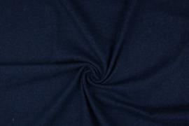 Spijkerstof stretch donker blauw