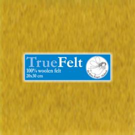 Mosterd 20 x 30cm TrueFelt