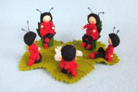 Lieveheersbeestjes Feestje Atelier Pippilotta