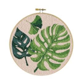 Botanic Punch Needle pakket - Restyle