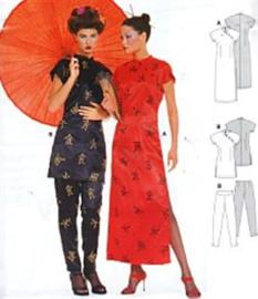 2773 China-Lady  Burda style