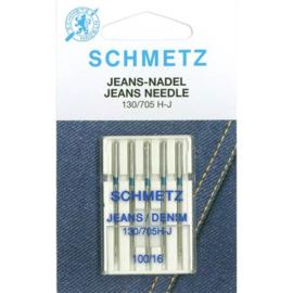Jeans Needles 130/705 H-J 100/16 Schmetz