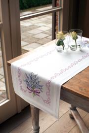 Lavendel Loper Voorbedrukt Vervaco