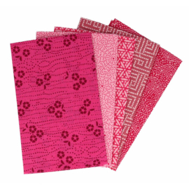Mystical Magenta Fat Quarter Bundle Tissu de marie