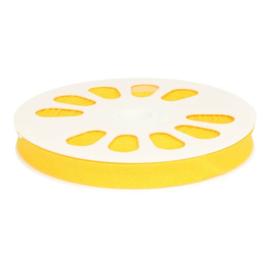 645 Warm geel Gevouwen Biasband 20mm p.m. Oaki Doki
