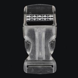 20mm Turbo-sluiting Transparant