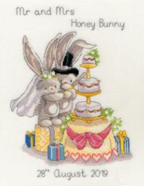 Cutting the Cake Aida Bebunni telpakket - Bothy threads