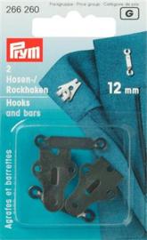 12mm Broek- en Rokhaken Prym